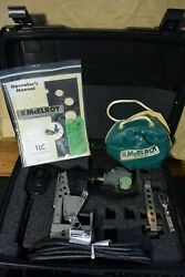 Mcelroy Model 1lc Pipe Fusion Machine Set