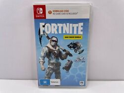 Fortnite Deep Freeze Bundle Nintendo Switch Game New And Sealed Aus Coded