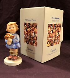 Hummel Goebel Girl With Nosegay Model 239/a Figurine With Box