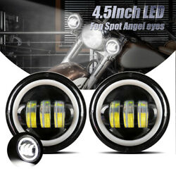 4.5 Inch 60w Led Spot Fog Passing Lights Driving Lamps For Suzuki Boulevard C50