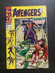 Avengers 47 First black Night High Grade Very Nice Beautiful Color.
