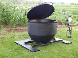 Jumbo 40 Gallon Discada Wok Grill Booya Bowl Patio Cooker For A Large Crowd