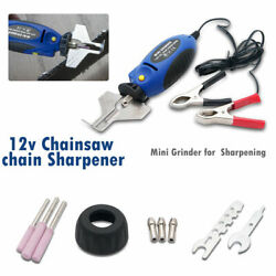 Universal Chain Saw Sharpener Chainsaw Electric Grinder File Pro Tools 12v 55w