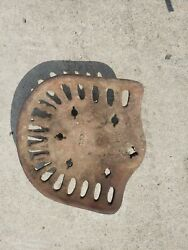 Vintage Dains Cast Iron Implement Tractor Seat Barn Fresh