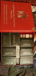 Silver Proof Sets Lot 1992-2016 Boxed Set Rare Complete Sets With Coas And Ed Box
