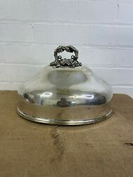 Old Victorian Meat Cover Dome Food Warmer Ornate Handle