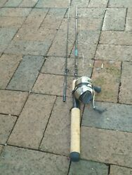 Shakespeare Reel And Fishing Rod Combo