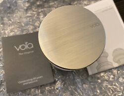 Vola A63f 1¼ Push Fixed In Open Position Without Overflow Stainless Steel