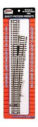 Atlas 564 Right-hand 6 Custom-line Turnout Track - Code 83 Rails - Ho Scale
