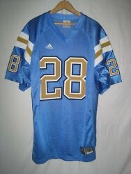 Authentic Ucla Bruins Men's Adidas Football Jersey 52 Blue 28 Sewn New