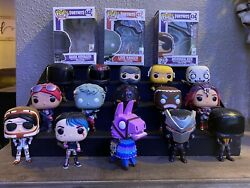 Fortnite Funko Pop Figurines - Assorted Lot Of 15 Pieces