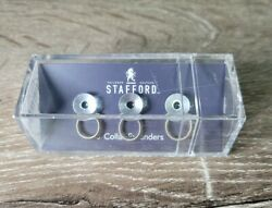 Stafford Collar Extenders. Silver. Extend Your Collar.