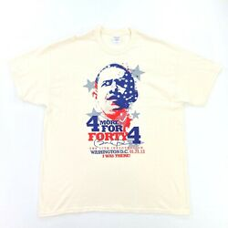 """Barack Obama Men's 57th Inauguration 2013 T-shirt """"i Was There"""" • Xl"""
