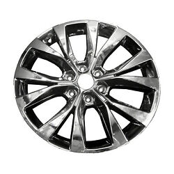 Factory Original Refurbished Light Pvd Chrome 20 In. 10003 Alloy Wheel For Ford