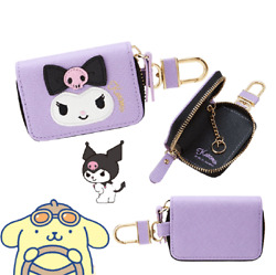 Kuromi My Melody Smart Key Case Remote Entry Combo Car Key Fob Case Bag Holde...