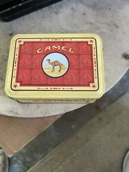 4 Camel Lights Disposable Lighters - In Metal Tin