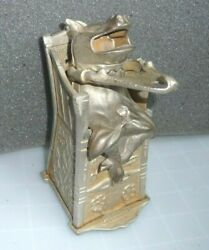 Educated Pig In A High Chair Mechanical Bank. J And E Stevens 285. 1897 Original