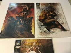 Soulfire Chaos Reign 1a,2a,3a Comic Bagged And Boarded Lot Of 3