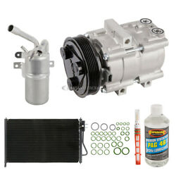 For Ford Focus 2003 2004 Oem Ac Compressor W/ Condenser Drier Csw