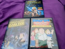 Family Guy Star Wars Movie/blu Ray Stewie Griffin The Untold Story Two Movie Lot
