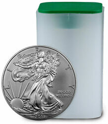 Roll Of 20 - 2013 Us Mint American Silver Eagle 1oz Bullion Round Coin Unc