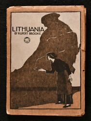 1915 Lithuania A Drama In One Act First Ed Brooke