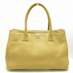 Executive Line Tote Bag Women And039s Gold Fittings Razor Be _32080
