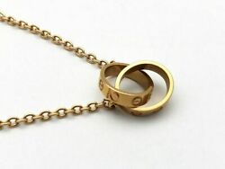Baby Love Necklace B7212300 750pg Pink Gold Jewelry Women And039s Popul _6980