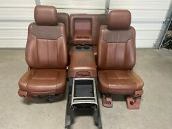 1999-2016 Ford F250 F350 F450 Super Duty King Ranch Front And Rear Seats