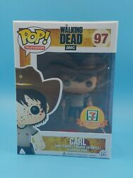 Funko Pop Tv The Walking Dead 97 Bloody Carl Grimes 7-eleven Exclusive Vaulted