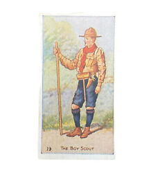 Scout Gum Advertising Trading Cards Early 1900s Antique Boy Scouts The Boy Scout