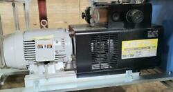 Orion Krf-70 Krf70 Rotary Vane Dry Pump Fully Tested And Working Flawlessly