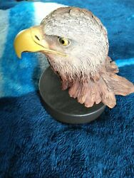 Rick Cain Limited Edition Year Of The Eagle Sample/2000 Carved Bald Eagle