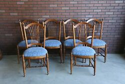 Dining Chairs Country French Wheatback Dining Chairs By Ethan Allen Set Of 6