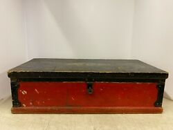 Vintage Antique Buddy L Toys Tool Box Chest Wooden 1920's