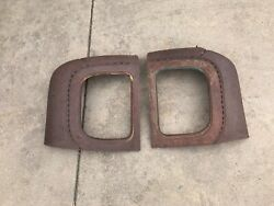 1928/29 Ford Coupe Rear Quarter Windows Rat Rod Hot Rod A / T 32 34 40 1929