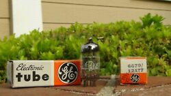 6679 12at7 X2 Ge Double Triode Tube-date Match-tested-factory Fresh-free Ship