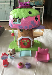 Puppy Dog Pals Keia's Treehouse Playset Disney Just Play Complete