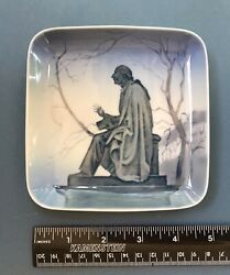 """Bandg H. C. Andersen 5"""" Square Plate Bing And Grondahl"""