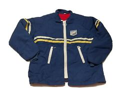 Rare Vintage Goodyear Tires Swingster Jacket Indy Racing 60-70 Size L Motor Club