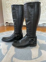 Fry Womens Harness Boots 8.5