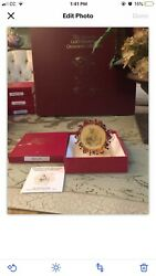 Hummel Gold Christmas Ornament Collection In Box. 36 Boxes Free Shipping