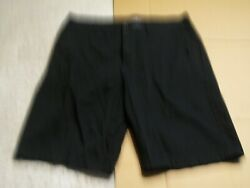 American Eagle Outfitters Mens 33 Actual 36x12 Longboard Black Shorts 100 C