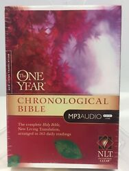 The One Year Chronological Bible 2010 5 Cds Audiobook Nlt Version Tyndale New