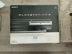 Ps3 Playstation 3 Brand New And Never Used 2006 60gb Backwards Compatible