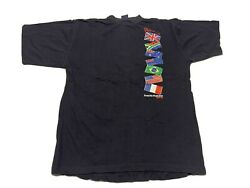 1997/98 The Whitbread Race T-shirt Mens L Round The World Race Blue
