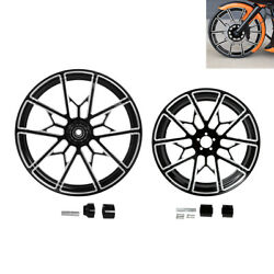 21''/23''/26''/30'' Front And 18'' Rear Wheel Rim Hub Fit For Harley Touring 08-21