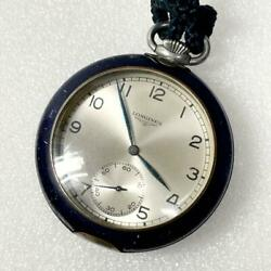 Longines/longines Hand-wound Pocket Watch Silver Antique Rare Items