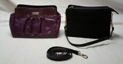Miche Nikki Plum Purple Petite Shell With Classic Base Black Bag And Straps