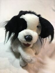 Folkmanis Border Collie Hand Puppet Plush Toy Dog 28 Excellent Condition